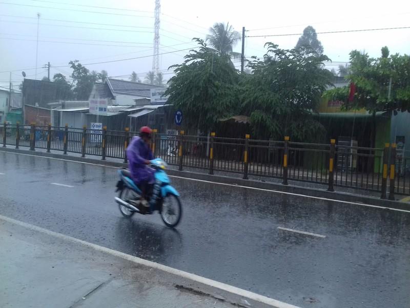 Nhiều nơi ở miền Tây đón cơn mưa giải hạn - ảnh 7