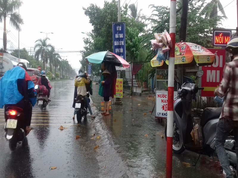 Nhiều nơi ở miền Tây đón cơn mưa giải hạn - ảnh 2