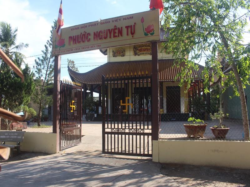 Bắt 2 người trộm gần 20 lượng vàng tại chùa Phước Nguyên - ảnh 1