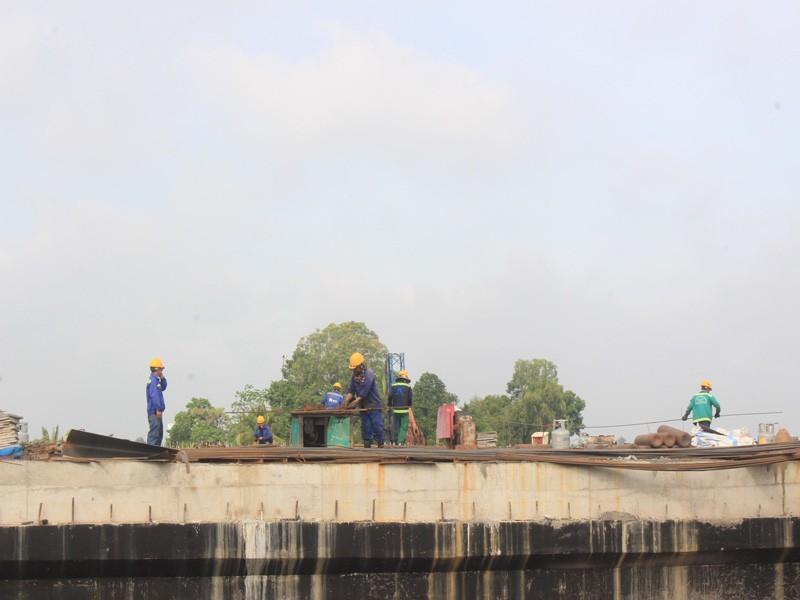 Cao tốc Trung Lương – Mỹ Thuận hoàn thành 50% khối lượng - ảnh 2