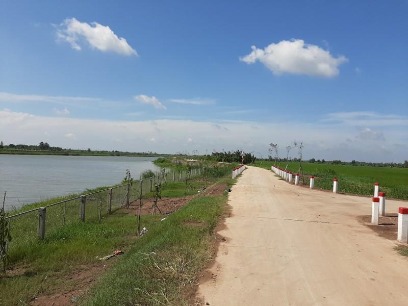 Bến Tre: Hơn 352 tỉ đồng xây hồ chứa 2,3 triệu khối nước ngọt - ảnh 3
