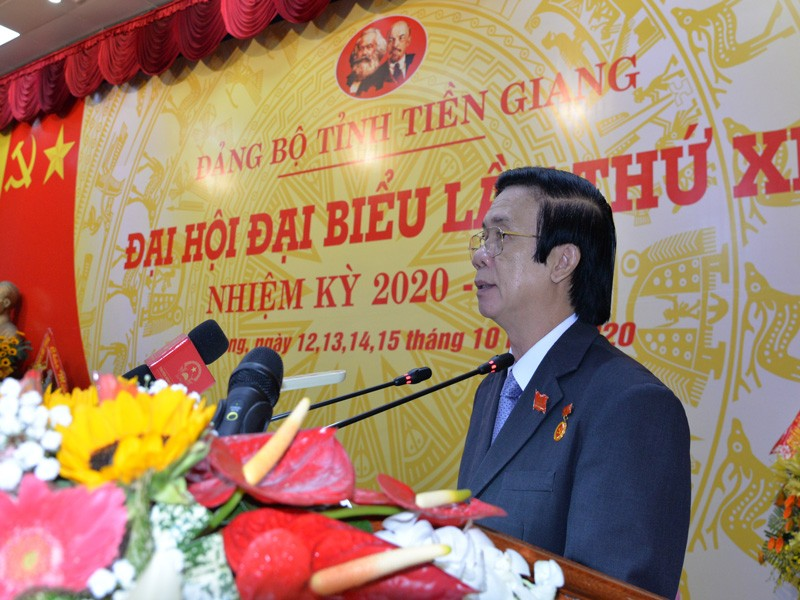Ông Nguyễn Văn Danh tái đắc cử Bí thư Tỉnh ủy Tiền Giang - ảnh 1
