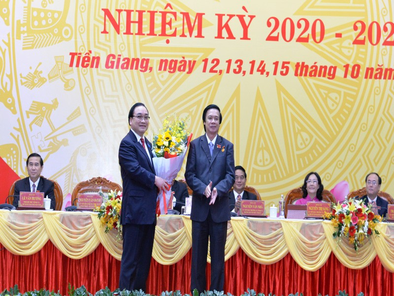 Ông Nguyễn Văn Danh tái đắc cử Bí thư Tỉnh ủy Tiền Giang - ảnh 2