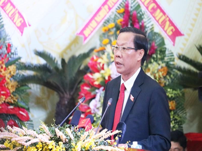 Ông Phan Văn Mãi tái đắc cử Bí thư Tỉnh ủy Bến Tre  - ảnh 1