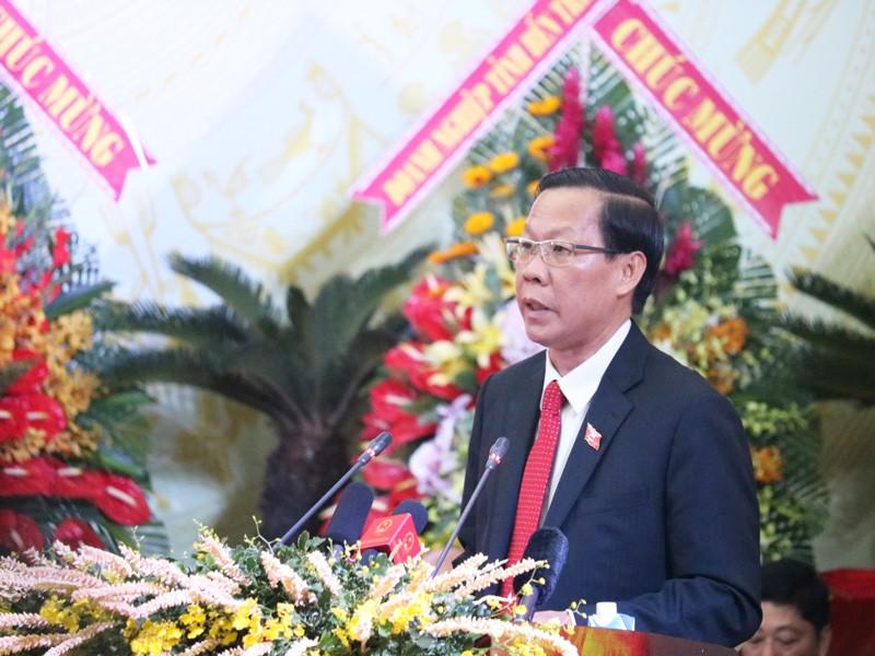 Ông Phan Văn Mãi được giới thiệu tái cử Bí thư Tỉnh ủy Bến Tre - ảnh 1