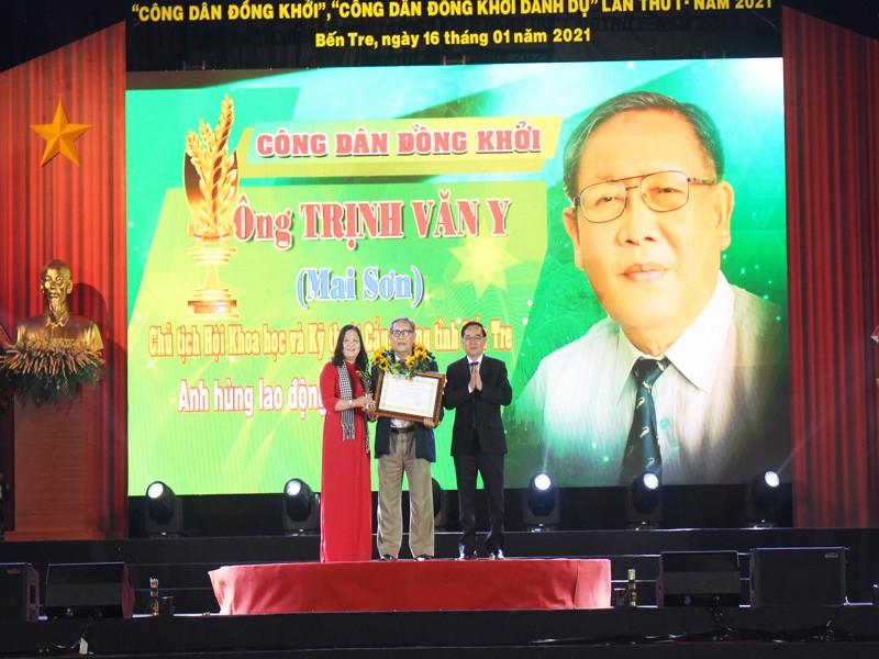 Tôn vinh 8 'Công dân Đồng Khởi', 'Công dân Đồng Khởi danh dự' - ảnh 2