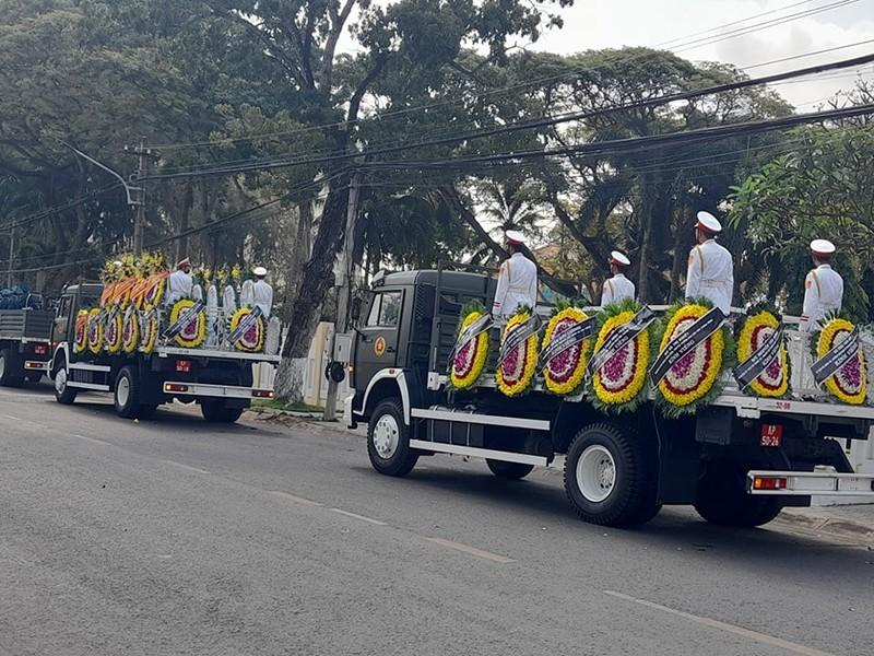 Xúc động lễ truy điệu nguyên Phó Thủ tướng Trương Vĩnh Trọng - ảnh 6