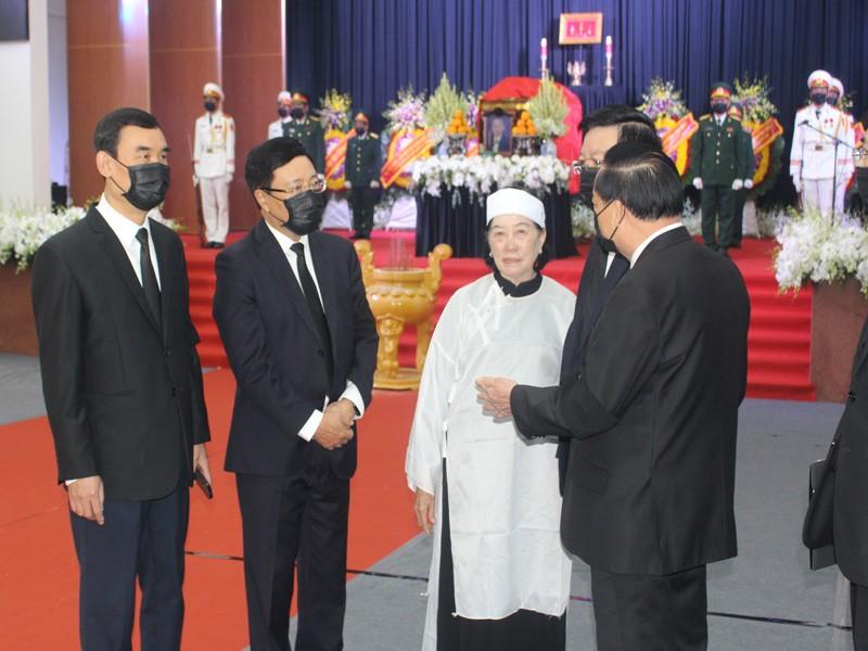 Xúc động lễ truy điệu nguyên Phó Thủ tướng Trương Vĩnh Trọng - ảnh 4
