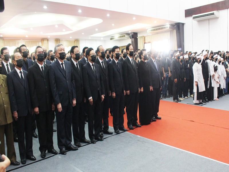 Xúc động lễ truy điệu nguyên Phó Thủ tướng Trương Vĩnh Trọng - ảnh 1