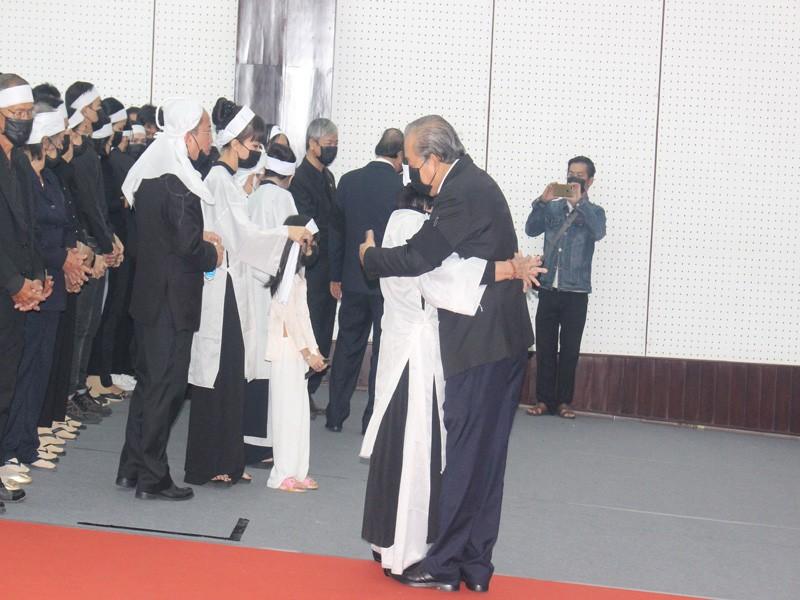 Xúc động lễ truy điệu nguyên Phó Thủ tướng Trương Vĩnh Trọng - ảnh 3