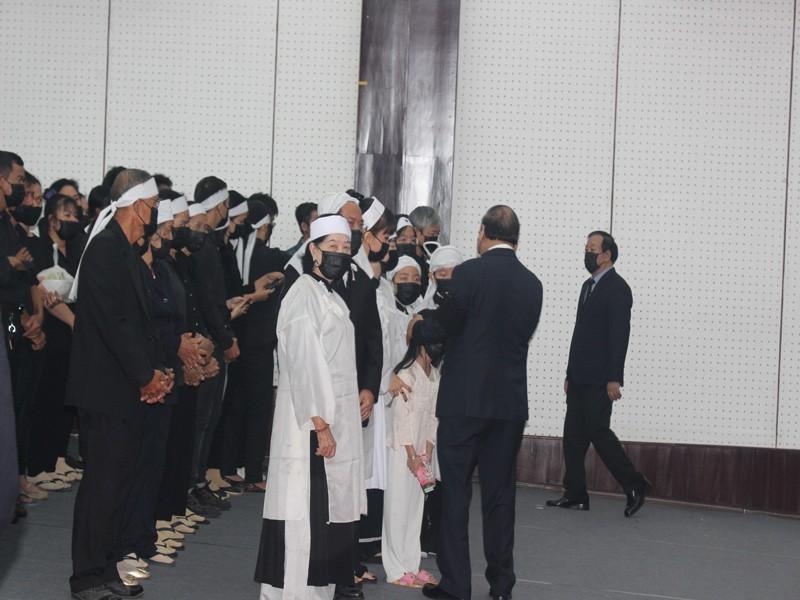 Xúc động lễ truy điệu nguyên Phó Thủ tướng Trương Vĩnh Trọng - ảnh 2