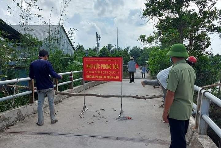 Tiền Giang: Phong tỏa toàn xã Mỹ Hạnh Đông với hơn 2.300 hộ dân bị cách ly - ảnh 1