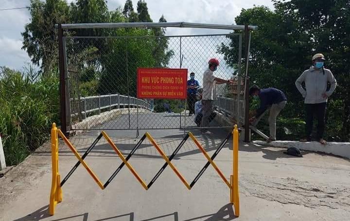 Tiền Giang: Phong tỏa toàn xã Mỹ Hạnh Đông với hơn 2.300 hộ dân bị cách ly - ảnh 2