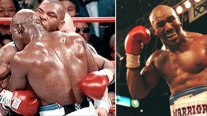 Mike Tyson thượng đài ở tuổi 53 và kẻ thách đấu Holyfield - ảnh 3