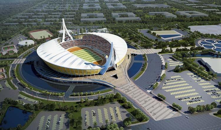 Campuchia hoàn thành sân bóng 168 triệu USD với 75 ngàn chỗ - ảnh 1