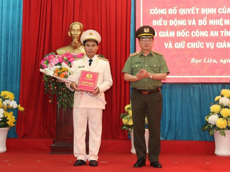 Phó giám đốc Công an Bình Thuận làm giám đốc Công an Bạc Liêu - ảnh 1