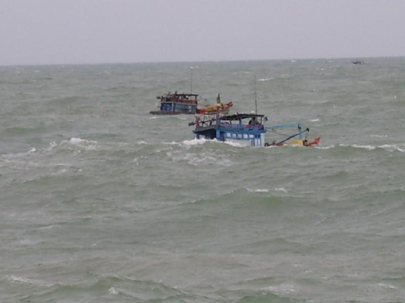 Phát hiện 38 người vượt biển về Việt Nam ăn Tết - ảnh 1