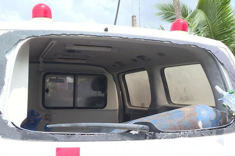Người đập kính sau xe cứu thương trốn cách ly ở Bạc Liêu bị loạn thần - ảnh 1